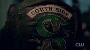 Season 1 Episode 13 The Sweet Hereafter Jughead's Serpent jacket