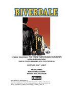 Chapter Seventeen The Town That Dreaded Sundown Poster Draft