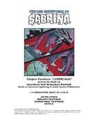 Sabrina Chapter Fourteen Lupercalia Poster Draft