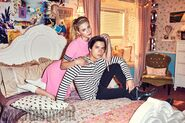 EW - Lili Reinhart and Cole Sprouse