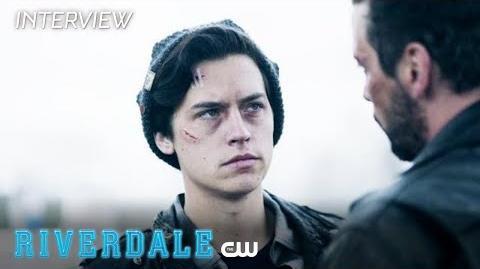 Riverdale Cole Sprouse Interview Season 2 - Jughead's Sacrifice The CW