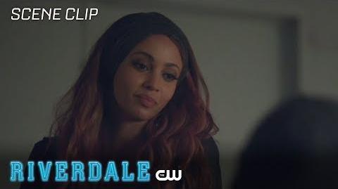 Riverdale Season 2 Ep 4 Jughead and Toni Talk Serial Killers The CW