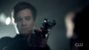 Season 1 Episode 12 Anatomy of a Murder Cliff with gun