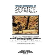 Sabrina Chapter Ten The Witching Hour Poster Draft