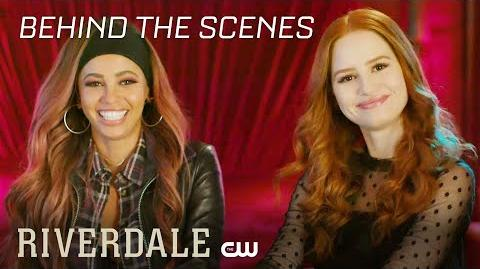 Riverdale Between 2 Vixens - Behind The Scenes Q&A The CW