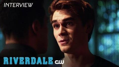Riverdale KJ Apa Interview Season 2 - Archie's Knife The CW