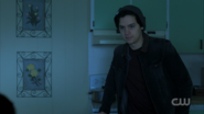 Season 1 Episode 11 To Riverdale and Back Again Jughead at the trailer