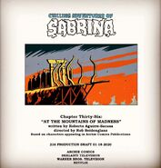 Sabrina Chapter Thirty Six At the Mountains of Madness Poster Draft