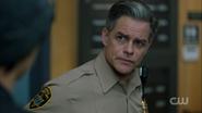 Season 1 Episode 12 Anatomy of a Murder Sheriff Keller at the station
