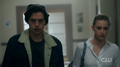 Season 1 Episode 12 Anatomy of a Murder Jughead and Betty in the hall 1