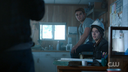 Season 1 Episode 7 In a Lonely Place Archie and Jughead at Andrews construction