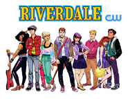 Riverdale promotional the CW