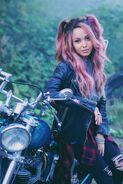 Season 2 Promotional Poster Toni Topaz Motorcycle
