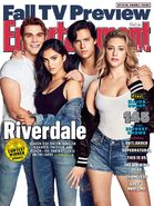 Entertainment Weekly Cover KJ Apa, Camila Mendes, Cole Sprouse, and Lili Reinhart