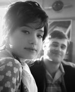 Retro Photo - Cody Kearsley (Moose Mason) and (Midge)