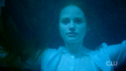 Season 1 Episode 13 The Sweet Hereafter Cheryl hallucinating under water