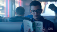Season 1 Episode 10 The Lost Weekend Dilton reading a book
