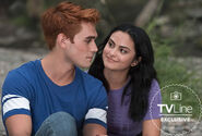 Riverdale First Look S3 - Archie-Veronica