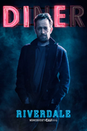 Season 2 'Diner' Fred Andrews Promotional Portrait