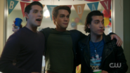 Season 1 Episode 10 The Lost Weekend Joaquin, Archie and Kevin
