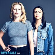 Season 2 Promotional Image Lili Reinhart and Camila Mendes