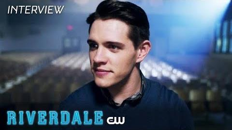 Riverdale Casey Cott Interview Season 2 - The Show Must Go On The CW