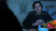 Season 1 Episode 11 To Riverdale and Back Again Jughead sitting