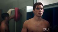 Season 1 Episode 3 Body Double Archie in lockerroom
