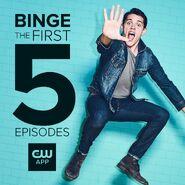 Season 2 - Casey Cott - First 5 Episodes