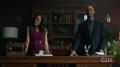 Season 1 Episode 13 The Sweet Hereafter Mayor Sierra McCoy and Mr. Weatherbee