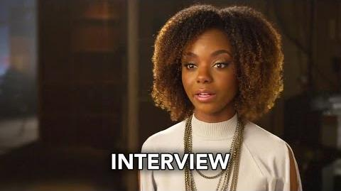 Riverdale (The CW) Ashleigh Murray Interview HD