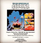 Sabrina Chapter Thirty Two The Imp Of The Perverse Poster Draft