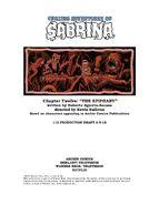 Sabrina Chapter Twelve The Epiphany Poster Draft
