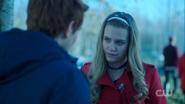 Season 1 Episode 9 La Grande Illusion Polly talking with Archie