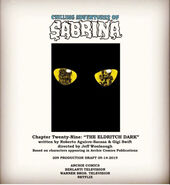 Sabrina Chapter Twenty Nine The Eldritch Dark Poster Draft