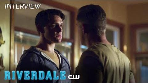 Riverdale Casey Cott Interview Season 2 - A Father's Love The CW