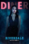 Season 2 'Diner' Veronica Lodge Promotional Portrait