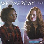 Season 2 Promotional Image Cheryl & Josie
