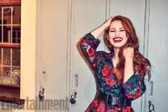 Entertainment Weekly Exclusive Photo Madelaine Petsch (Cheryl Blossom)