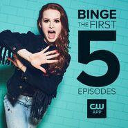 Season 2 - Madelaine Petsch - First 5 Episodes
