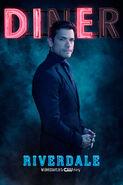 Season 2 'Diner' Hiram Lodge Promotional Portrait