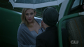 Season 1 Episode 11 To Riverdale and Back Again Betty and Jughead in the rain
