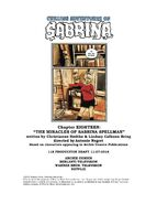 Sabrina Chapter Eighteen The Miracles of Sabrina Spellman Poster Draft