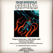 Sabrina Chapter Thirty One The Weird One Poster Draft