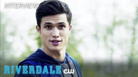 Riverdale Charles Melton Interview With Open Arms The CW