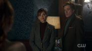 Season 1 Episode 11 To Riverdale and Back Again Penelope and Cliff