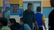 Season 1 Episode 10 The Lost Weekend Chuck entering cafeteria