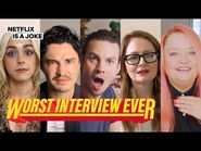Chilling Adventures of Sabrina Cast Prank Each Other - Worst Interview Ever