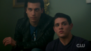 Season 1 Episode 10 The Lost Weekend Kevin and Joaquin excited