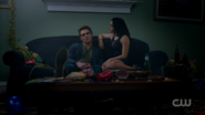 Season 1 Episode 10 The Lost Weekend Veronica and Archie on the couch